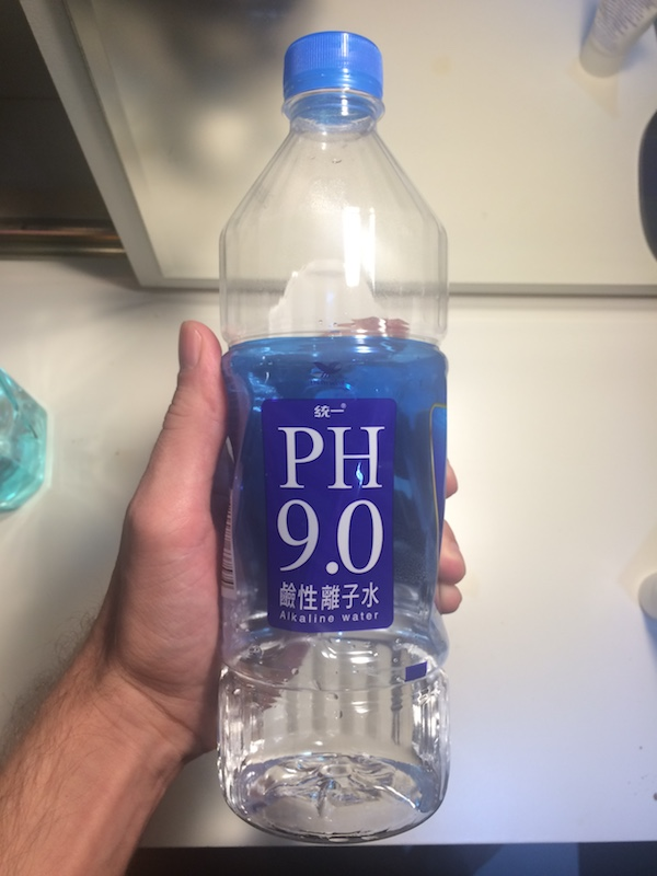 alkaline water ph 9 taiwan