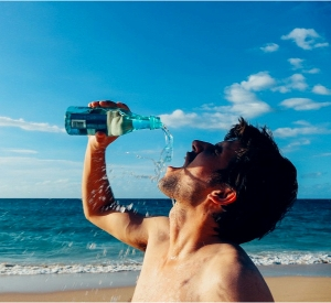 alkaline water weight loss dehydrated