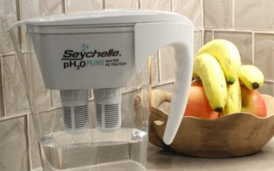 My Seychelle pH2O Alkaline Water Filter Pitcher Review