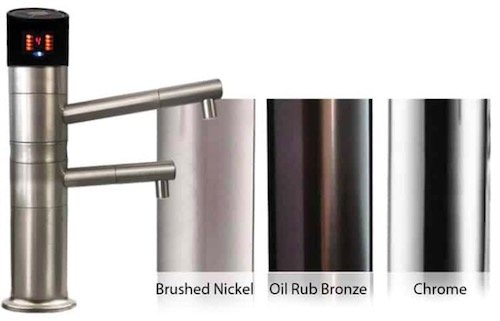 mxl series faucet finishes