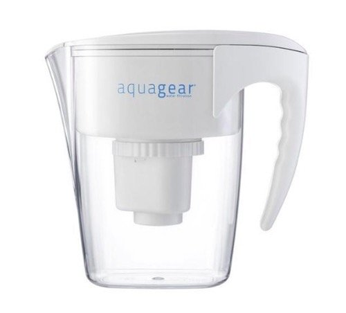 Aquagear Water Filter Pitcher Review ph test