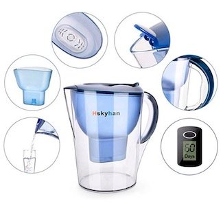 hskyhan alkaline water pitcher reviews