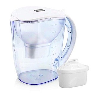 wellblue best alkaline water pitcher reviews
