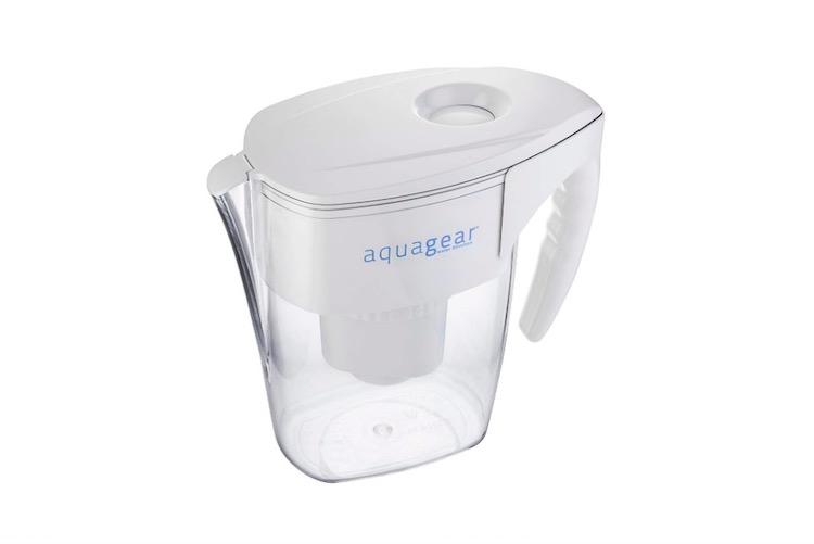 aquagear best best water filter pitcher for lead removal