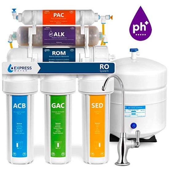 express water reverse osmosis system remineralization