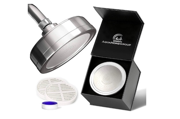aquahomegroup luxury filtered shower head