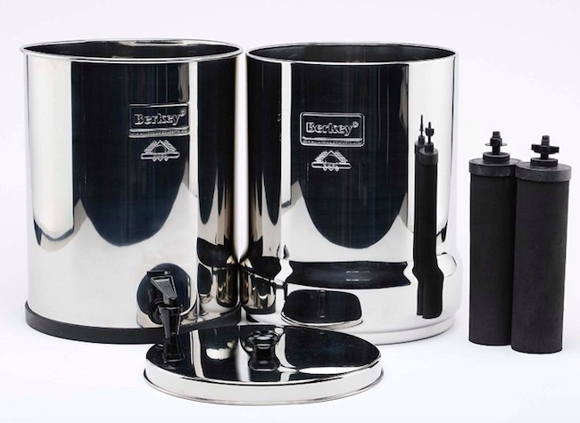 nikken water filter vs berkey